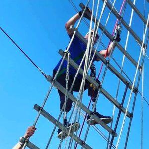 SV Tenacious Mast Climb 2019 Jubilee Sailing Trust